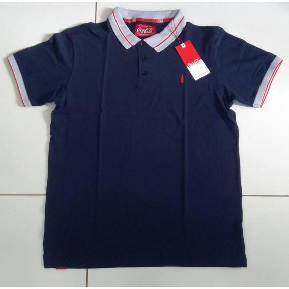 Camisa Polo Masculino Coca Cola Original