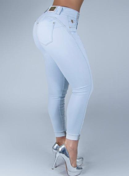 Calça Cigarrete Cropped Feminina Pit Bull Jeans 28378