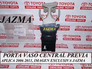 Porta Vaso Central Toyota Previa 2006 2011 Original