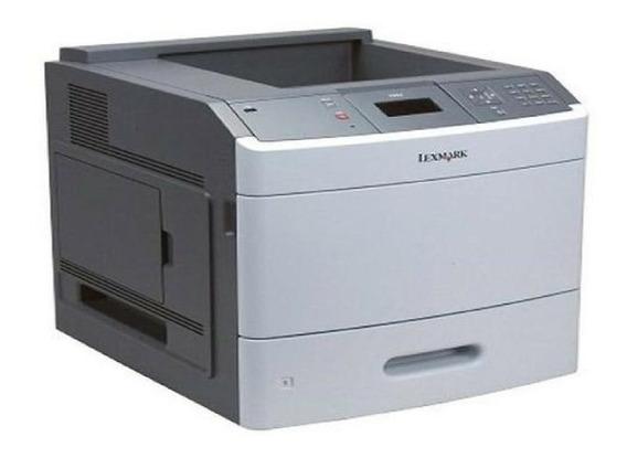 1 (uma) Impressora Laser Mono Lexmark T654 T654dn