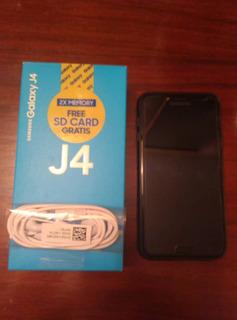 Samsung J4 32 Gb + Memoria Sd De 32gb Dual Sim (120 Trump)