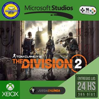 The Division 2 - Xbox One Modo Local + En Linea