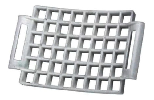 Molde Raviol Curvo 48 Piezas Fundición Aluminio Marca Corta