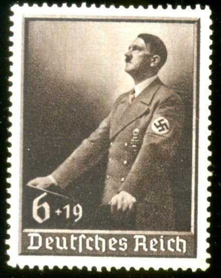 Alemanha Reich 1939 Hitler No Dia Do Trabalho Veja+ Selos