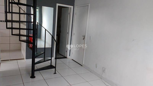 Cobertura Com 2 Quartos, 116 M² Por R$ 160.000 - Amendoeira - São Gonçalo/rj - Co2221