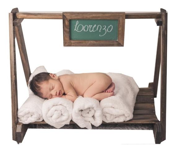 Caminha Balanço Mini Lousa Prop Newborn Acompanhamento Bebê
