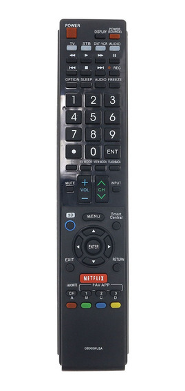 Control Remoto Para Tv Sharp Gb005wjsa