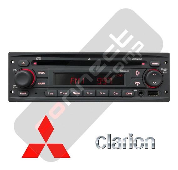 Radio Original Mitsubishi Clarion Cd Usb Bluetooth Mp3 Aux