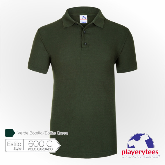 Playera Polo Caballero Playerytees Modelo 600c