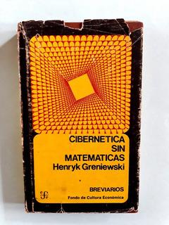 Libro Cibernetica Sin Matemáticas (1971)