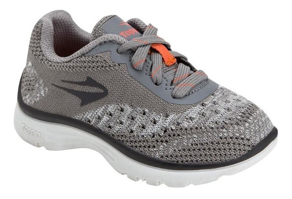 Zapatillas Topper Wool Bb 41721 Gris Dep