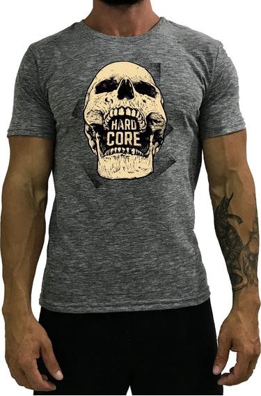 Kit 3 Camiseta Masculina Academia T-shirt Roupas Estampada