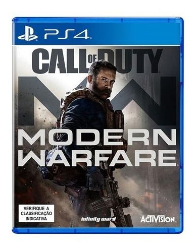 Call Of Duty: Modern Warfare Ps4 Mídia Fisica