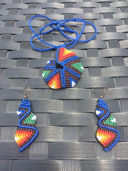 Conjunto Collar Y Pendientes/aretes