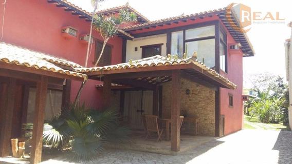 Casa Mobiliada Na Praia Da Ferradura Búzios Locação Temporada - Ca0122