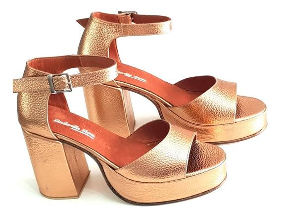 Sandalias Plataforma Num 41 42 43 44 Zinderella Shoes Cod51