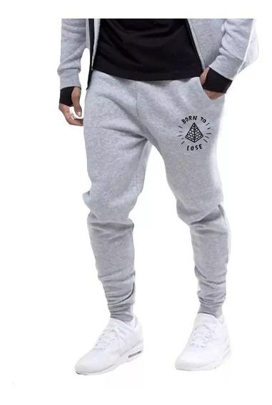 Roupa Calça Moletom Algodão Moda Masculina Jogger Lançamento