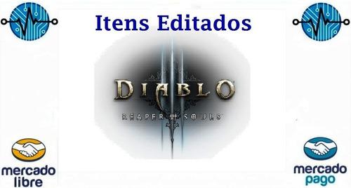 Itens Editados Diablo 3 Ros : Set  Para Modo Soft E Hard