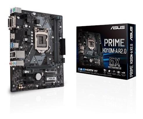 Asus Prime H310m-a R2.0 Dvi/vga