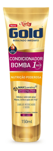 Niely Gold Condicionador Bomba Nutrição
