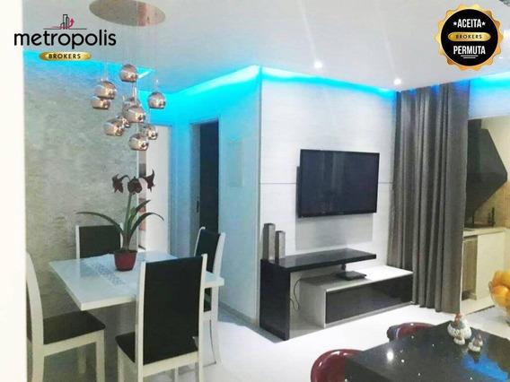 Apartamento À Venda, 65 M² Por R$ 490.000,00 - Fundação - São Caetano Do Sul/sp - Ap1524