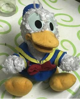 Muñeco Antiguo De Peluche Disney Pato Donald