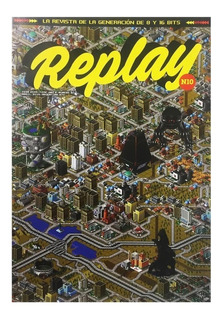 Replay #10 - Revista - Sim City Metal Gear - Videojuegos