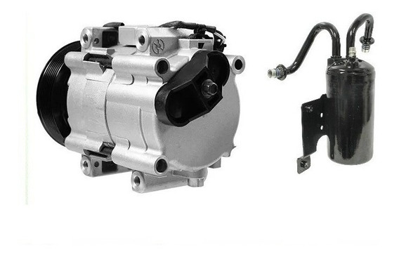Compressor Ar Cond Dodge Ram 2500 3500 E Filtro Acumulador