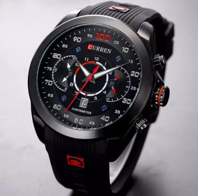 Relógio Masculino Curren 8166 Quartz Esportivo Original