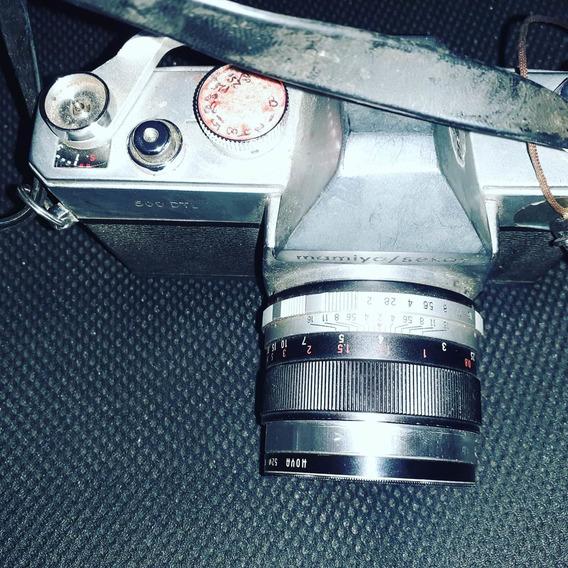 Câmera Fotográfica Antiga Mamiya 500 Dtl