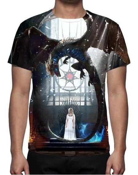 Camiseta Game Of Thrones 8ª Temporada - Jogo - Promoção