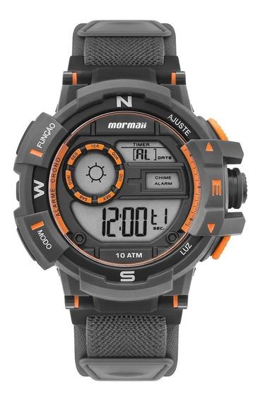 Relógio Mormaii Action Masculino Preto Mo3231ac/8l C/ Pulseira De Neoprene