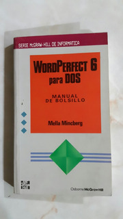 Libro Word Perfect 6 Para Dos,manual Bolsillo Mella Mincberg
