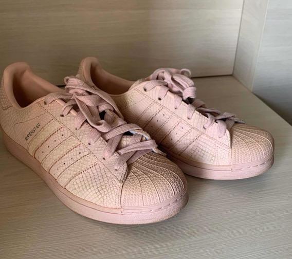 Tênis adidas Superstar Rosê