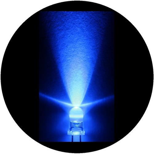 Imagen 1 de 6 de 1000 Leds Azules De 5mm