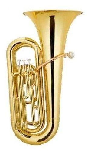 Tuba A Pistones Custom Marca Parquer + Estuche Cod Ptubac