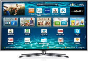 Usado Tv Samsung Smart Tv 3d De 55 Pulgadas + Base, Deco,