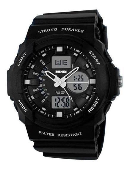 Relógio Masculino Skmei Anadigi 0955 Preto C/ Garantia E Nf