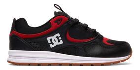 Tênis Dc Shoes Kalis Lite Black Athletic Red Skate Dvs Globe