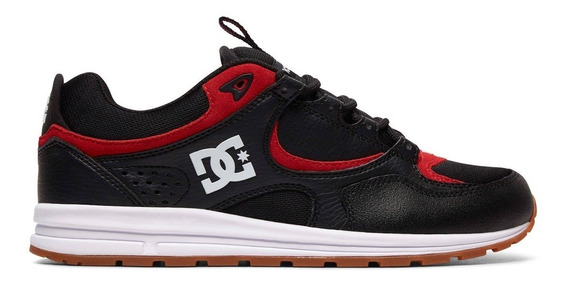 Tênis Dc Shoes Kalis Lite Black Athletic Red Skate Dvs Globe 100% Original Pronta Entrega