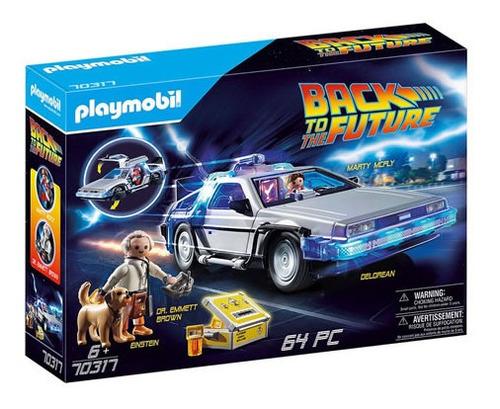 Delorean Playmobil