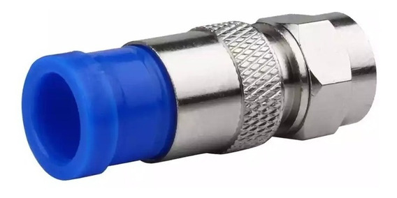 Conectores De Compresión Rg6 Para Cable Coaxial