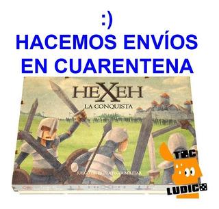 Hexeh La Conquista - Estrategía Edición De Lujo - Toc Lúdico