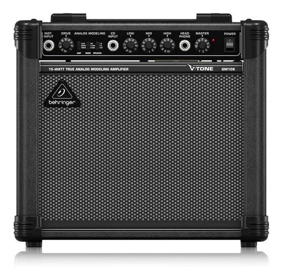 Behringer V-tone Gm108 Amplificador Guitarra 15w Preset De M