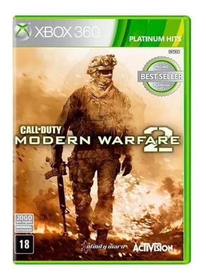 Call Of Duty Modern Warfare 2 Física Originalxbox 360+brinde
