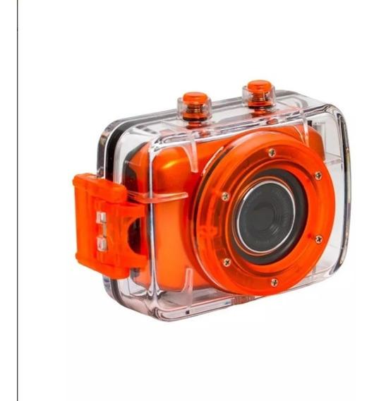 Camera Filmadora Marca Vivitar Dvr783 Hd Similar Go Pro