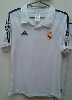 Camiseta De Zinedine Zidane Del Real Madrid Temporada 2002