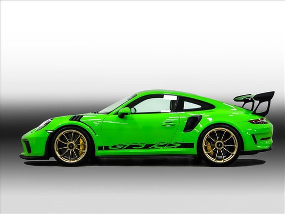 Porsche 911 Porsche 911 Gt3 Rs Cor Lizard Green