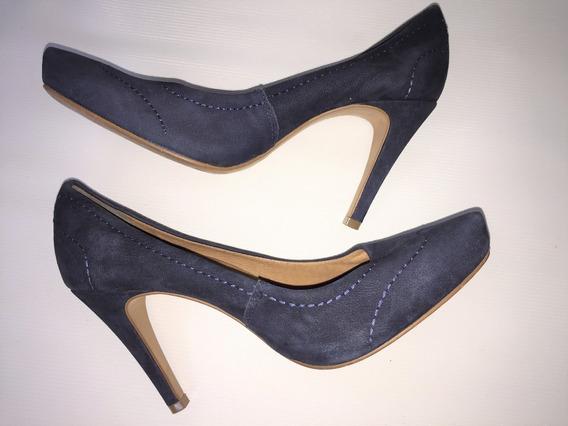 Sapato Feminino Scarpin Camurça Bottero Tam.37