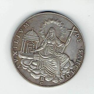 Medalla Papal, 1828. 4,1 Cms. De Diámetro. Jp